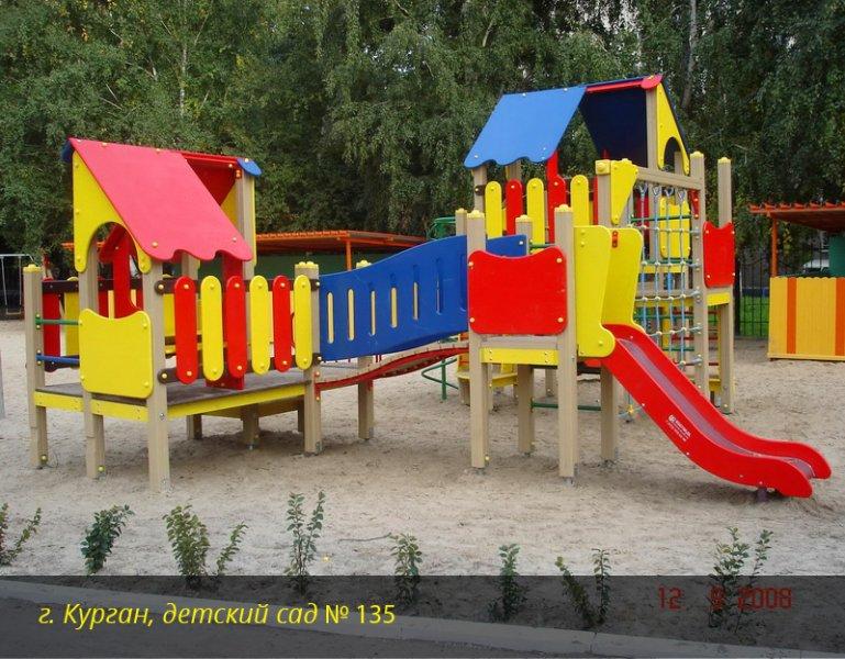 Услуги по оборудованию детских площадок в кургане