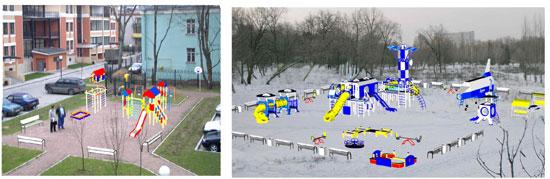 Планирование детской площадки