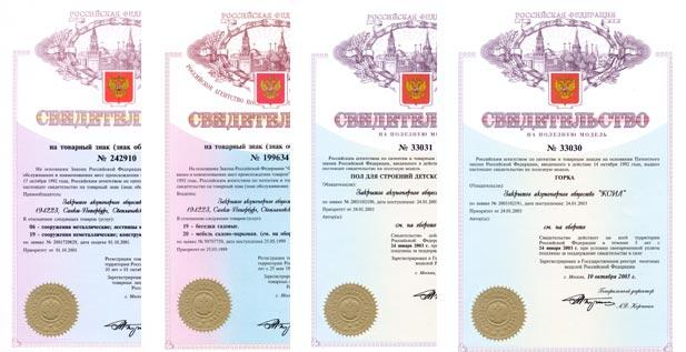 права на изобретение продукции КСИЛ